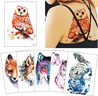Best watercolor animal tattoo Reviews