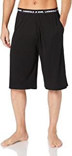KARL LAGERFELD Men's Logo Pyjama Bermudas Pajama Bottom