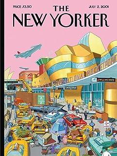 New York Puzzle Company - New Yorker J.F.K. International Rocketport - 1000 Piece Jigsaw Puzzle
