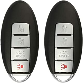 KeylessOption Keyless Entry Remote Control Car Smart Key Fob Replacement for KR55WK48903, KR55WK49622 (Pack of 2)