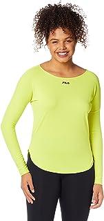 Camiseta Bio, FILA, Feminino, Verde Limao, M