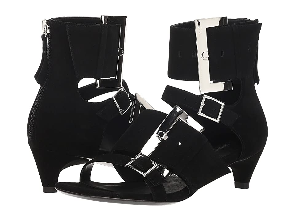 Opening Ceremony Ozzy Buckle Sandal Short (Black) Women
