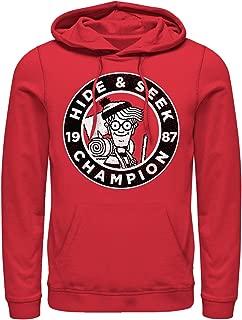 Where's Waldo Men's Hide and Seek Champion Hoodie