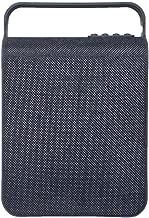 Fabric Bluetooth Speaker TF Card Player FM Radio USB Player AUX-in Speaker (Black)