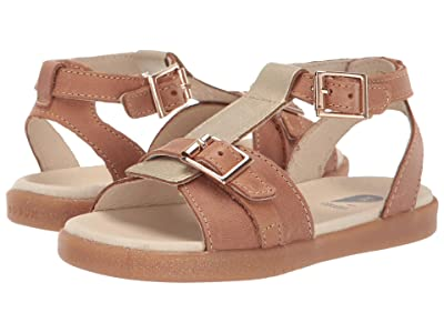 Bobux Kids Hera (Toddler/Little Kid) (Caramel/Misty Gold) Girls Shoes