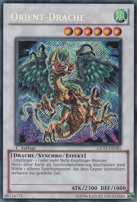 GENF-DE085 - Orient-Drache - Secret Rare - Yu-Gi-Oh - Deutsch - 1. Auflage