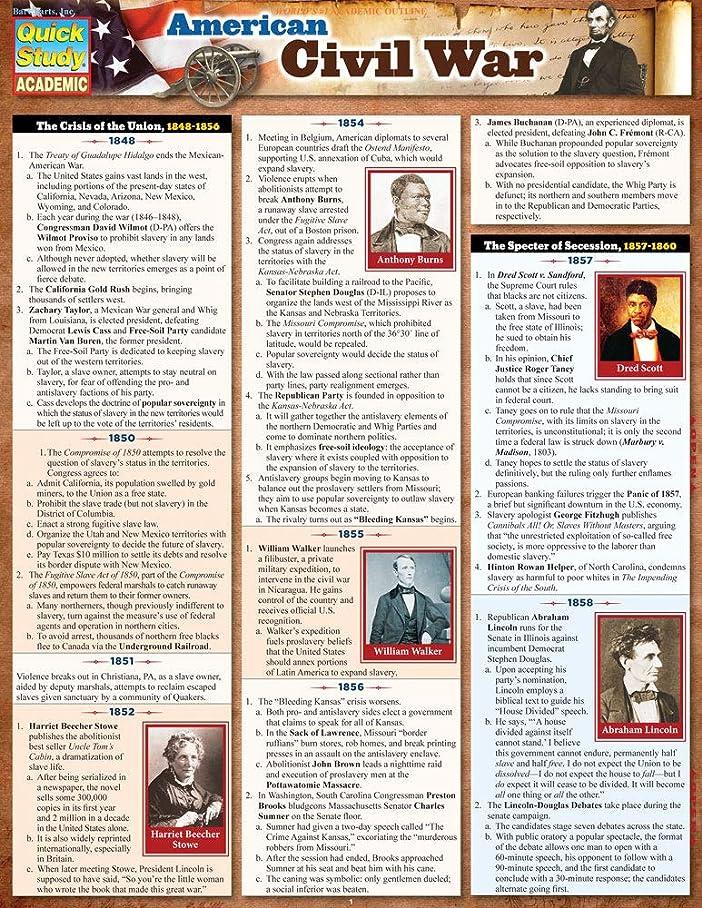 パーフェルビッド差別デッキAmerican Civil War (Quick Study Academic) (English Edition)