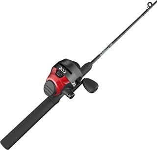 Zebco 202 Reel and Fishing Rod Combo, 2-Piece Rod,...