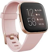 Ga voor een gezond en actief leven met Fitbit Versa 2, de premium smartwatch met spraakbediening, slaapscore, fitnessfunct...