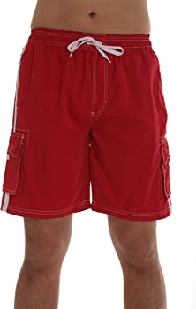 Whiskey and Oak Men's Bathing Suit Swim Trunks