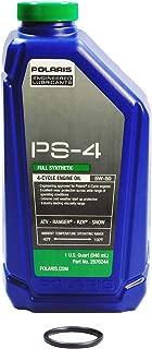 Polaris Sportsman 90 OEM PS-4 Full Synthetic Oil Change Kit POL22