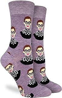 Hunting Fashion Athletic Running Socks Notorious RBG Fashion Feminist Ruth Bader Ginsburg Compression Sock Winter Warm Socks for Work Football Crew Dress Socks for Kids Teen Boys Mens Womens