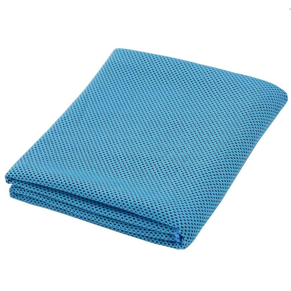 クリップ蝶どうしたの罰する速乾 軽量クールタオル冷感設計 超吸水 超冷感 熱中症対策