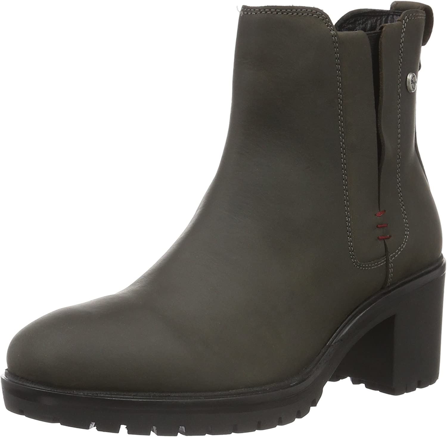 Wrangler Boots Womens Leather Grey