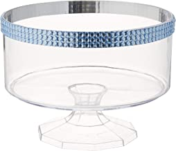 Small Trifle Container Blue Gems