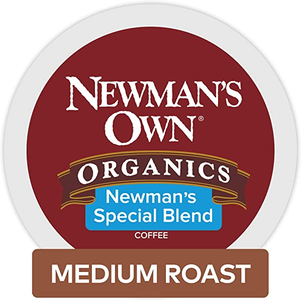 Newman S Own Organics Keurig Single Serve K Cup Pods Newman S Special Blend Medium Roast Coffee 72 Count 6 Boxes Of 12 Pods