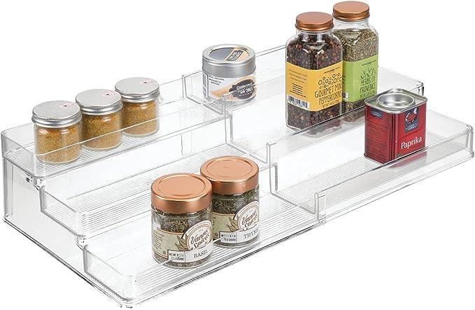 3983 opinioni per mDesign Portaspezie da cucina – Mensola portaspezie espandibile per una cucina