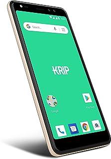 Smartphone desbloqueado Android 0S 9-Pie - Móvil KRIP K55h 4GLTE- Pantalla de 5.5 pulgadas - Memoria (16GB + 2GB) - Cámara...