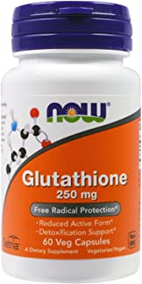 Now Food Glutathione, 250mg, 60 Vegetable Capsules