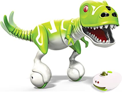Spin Master Zoomer Dinosaur Figure Only Eyes Light up Mouth Opens and Roars for sale online