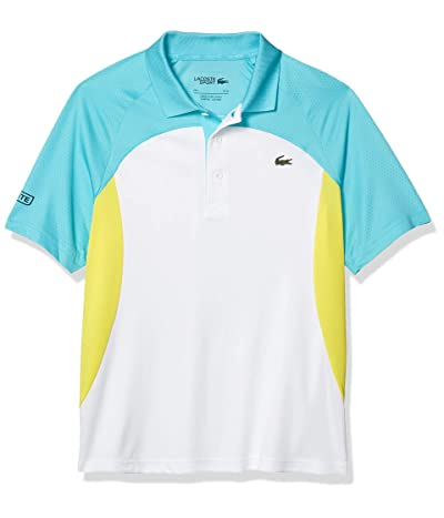 Lacoste Sport Short Sleeve Colorblock Ultra Dry Polo Shirt