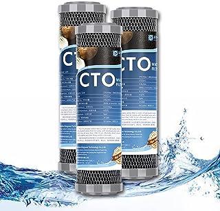 """FILTER 1 Micron 2.5""""x 10"""" de Remplacement de Cartouche de Filtre à Eau en Carbone CTO pour Toute la Maison pour système d'..."""