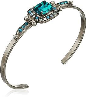 Happy Birthday Opulent Octagon Cuff Bracelet