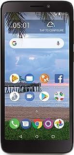 Tracfone TCL A1 4G LTE Prepaid Smartphone - Black - 16GB - Sim Card Included - CDMA (Renewed)