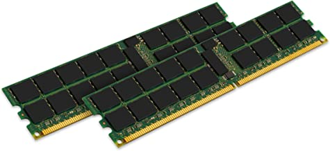 Kingston 16GB (2 x 8 GB) 667MHz ECC Registered DDR2 PC2-5300 240pin DIMM for Servers P/N: KTH-XW9400K2/16G