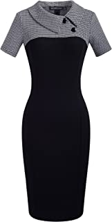 Best colorblock dress black and white Reviews