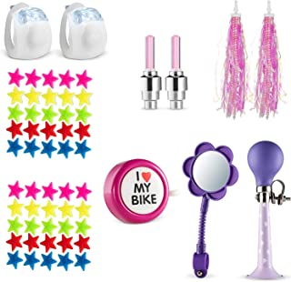 Bike Decoration & Accessories Kit for Kids - Includes...