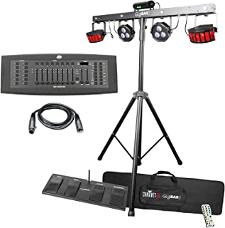 Chauvet DJ GigBAR 2 4-in-1 Complete Effect Light System with DMX Controller Package