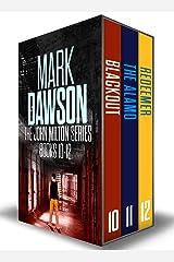 The John Milton Series: Books 10-12 Kindle Edition