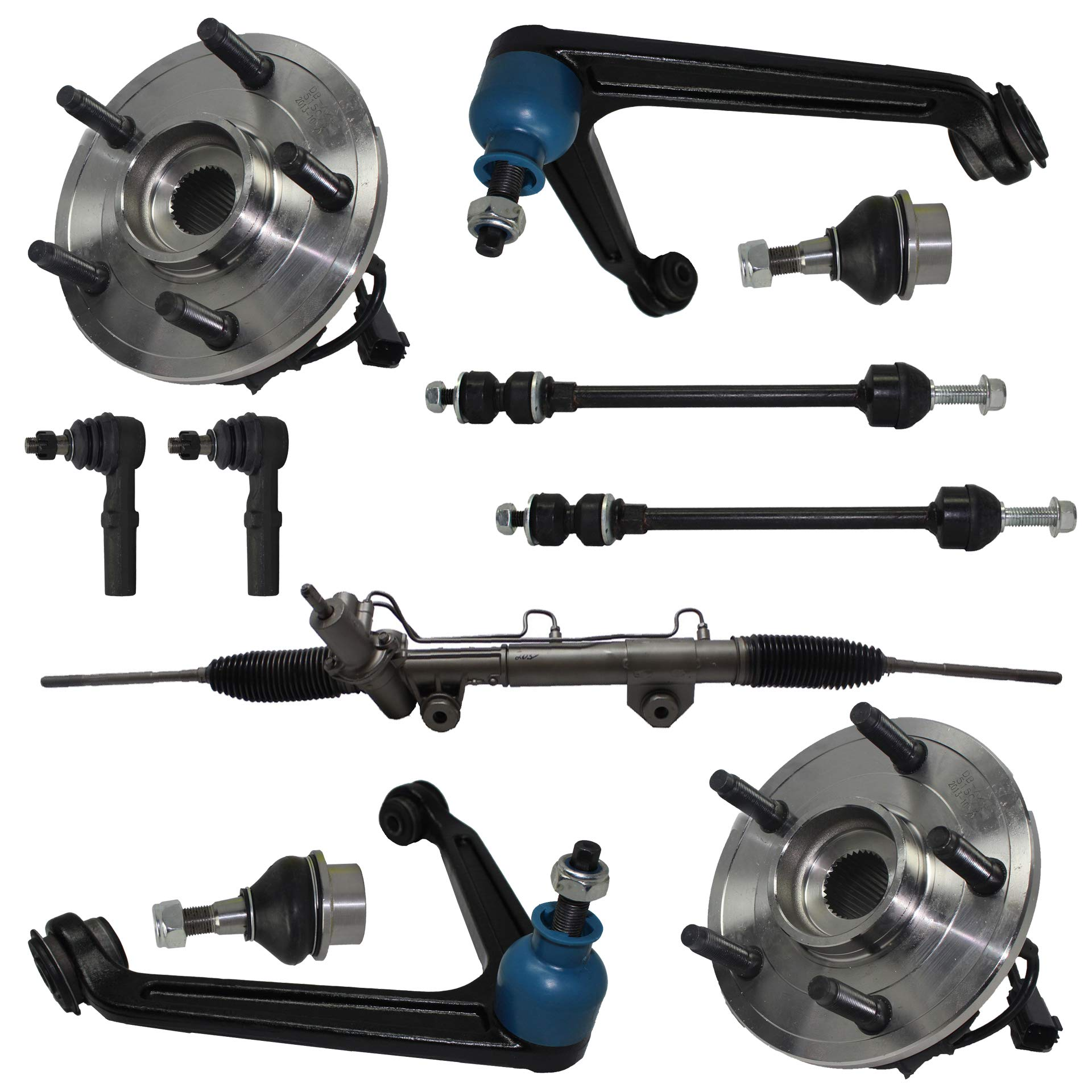 Detroit Axle Complete Power Steering Rack and Pinion Assembly for 2006-2013 BMW 3-Series