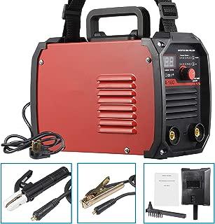 HomGarden MMA ARC Welding Machine 160AMP 110/230V Dual Voltage DC Inverter Welder System Portable IGBT Stick Arc Welder