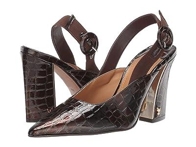 J. Renee Marianela (Dark Brown Croco Patent) High Heels