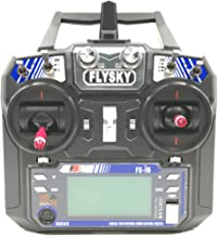 Flysky FS-i6 6CH 2.4GHz Radio System RC Transmitter Controller with FS-iA6 Receiver for RC Helicopter Plane Quadcopter Glide(Model_2)
