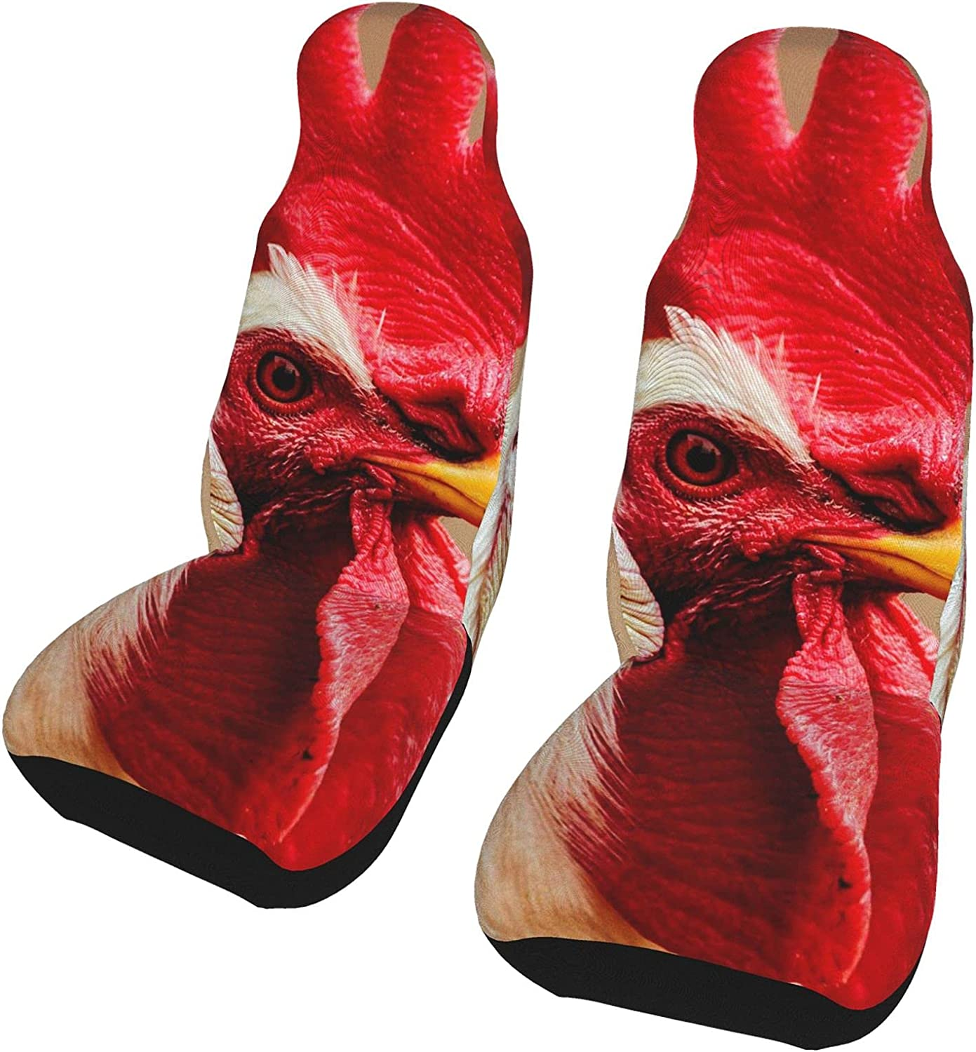 Hpoplace 2 Max 43% OFF Pcs Car Seat Covers Front S Crown Rooster Seats