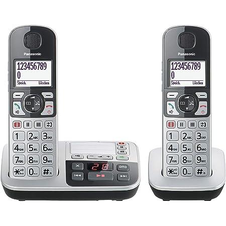 Panasonic Kx Tge522gs Dect Seniorentelefon Mit Notruf Elektronik
