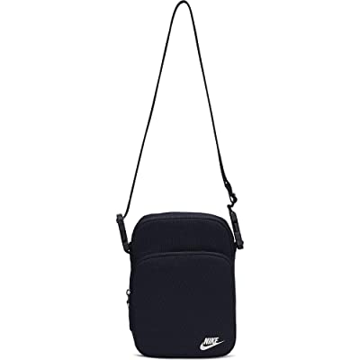 Nike Heritage Small Items 2.0 (Obsidian/Obsidian/White) Bags