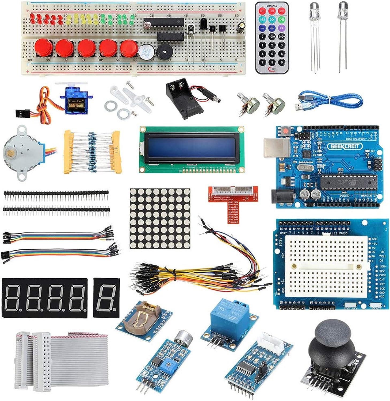 Starter Learning Kit Ersatz für Arduino Arduino Arduino UNO R3 1602 LCD Servo Motor Relais RTC LED Set B07PWNY6MD | Zahlreiche In Vielfalt  573f73