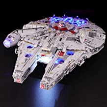 BRIKSMAX Led Lighting Kit for Star Wars Ultimate Millennium Falcon - Compatible with Lego 75192 Building Blocks Model- Not...