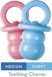 KONG - Puppy Binkieª - Soft Teething Rubber, Treat Dispensing Dog Toy