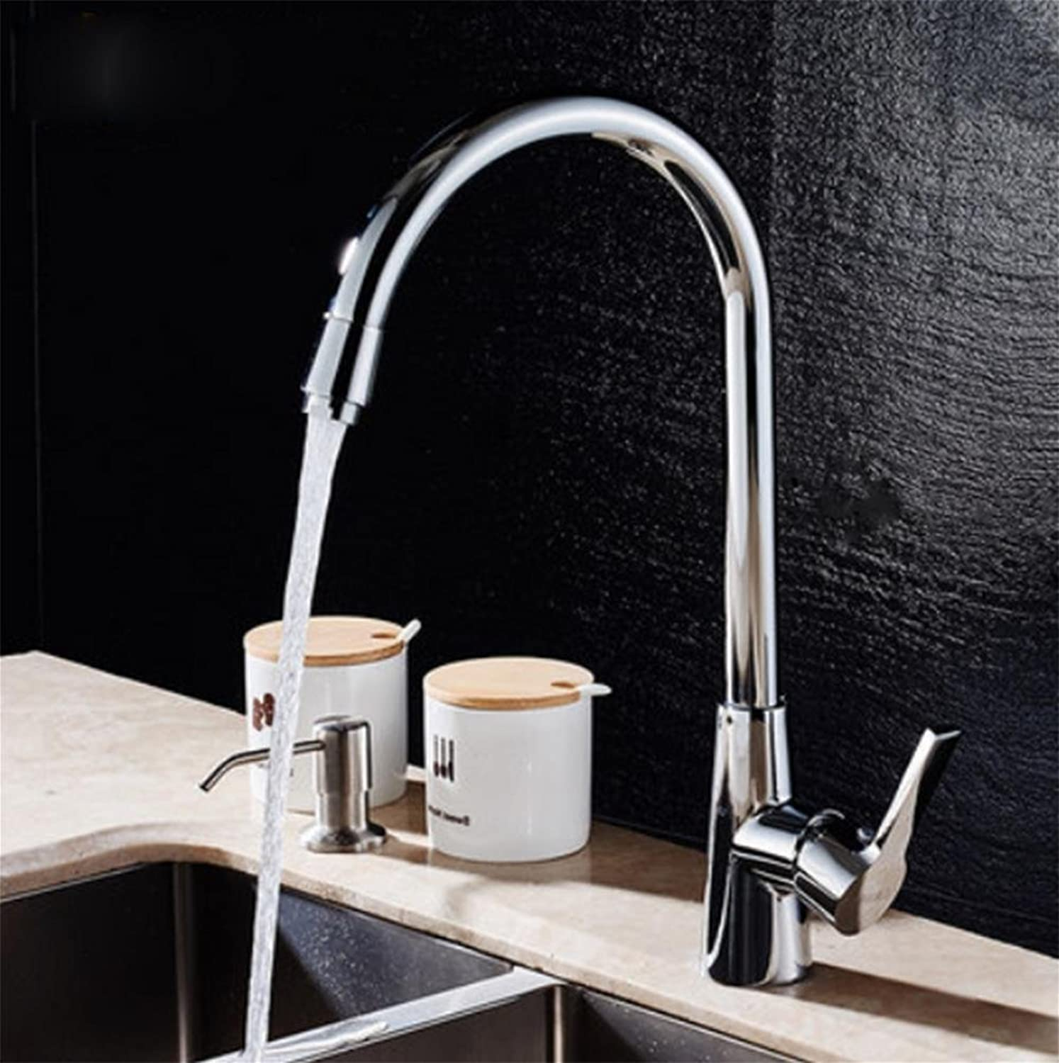 Kitchen faucet hot and cold faucet washing Caipen bathroom