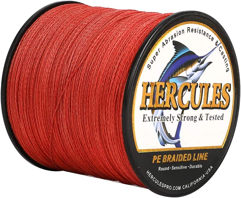 HERCULES Cost-Effective New life Milwaukee Mall Super Strong 4 Fishing Strands L Braided