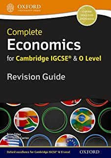 Complete Economics for Cambridge IGCSE® and O Level Revision Guide
