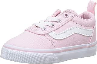 Vans 中性 Baby Ward Slip-on 帆布运动鞋