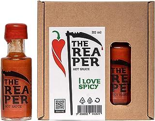 I LOVE SPICY The Reaper Scharfe Soße Carolina Reaper Chilischote 85% 20 ml Scharfe 7/5 Louisiana Stil