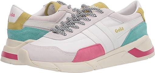 White/Fluor Pink/Sea Mist