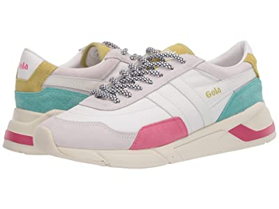 Gola Eclipse Trident (White/Fluor Pink/Sea Mist) Women
